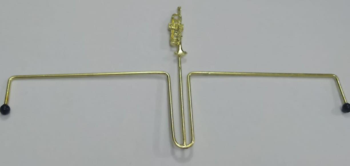 Prendedor para Hinario - Trompete
