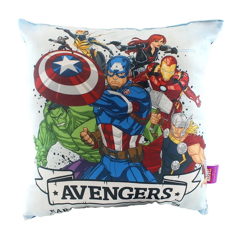Almofada Fibra Microfibra Avengers