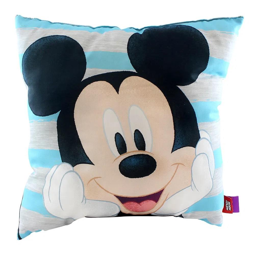 Almofada Fibra Microfibra Mickey