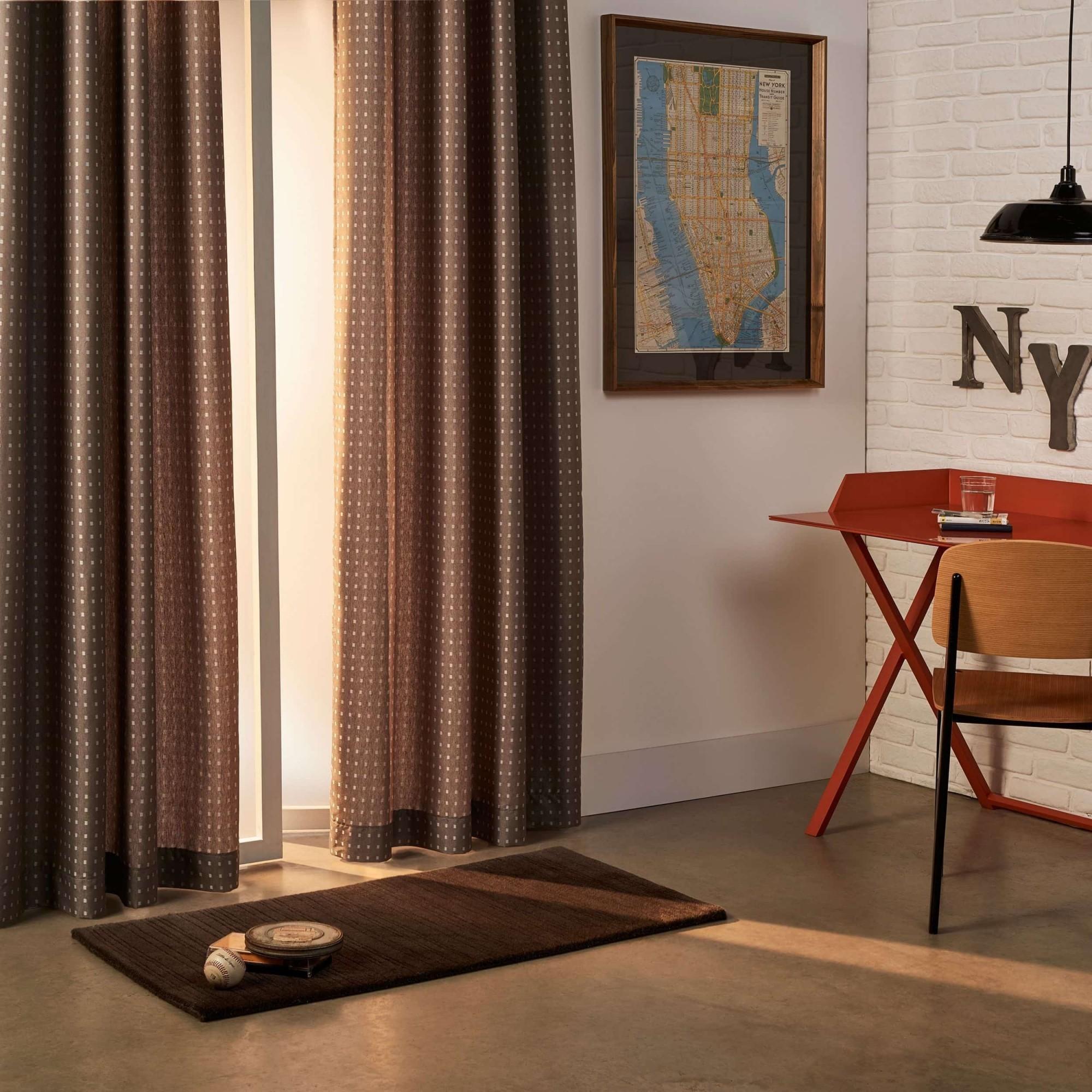 Cortina Nova York com Forro Corta-Luz 2,50x4,00