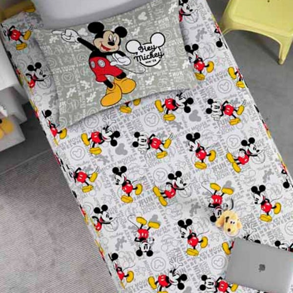 Jogo de Cama Disney Joy Mickey Fun 2 Peças