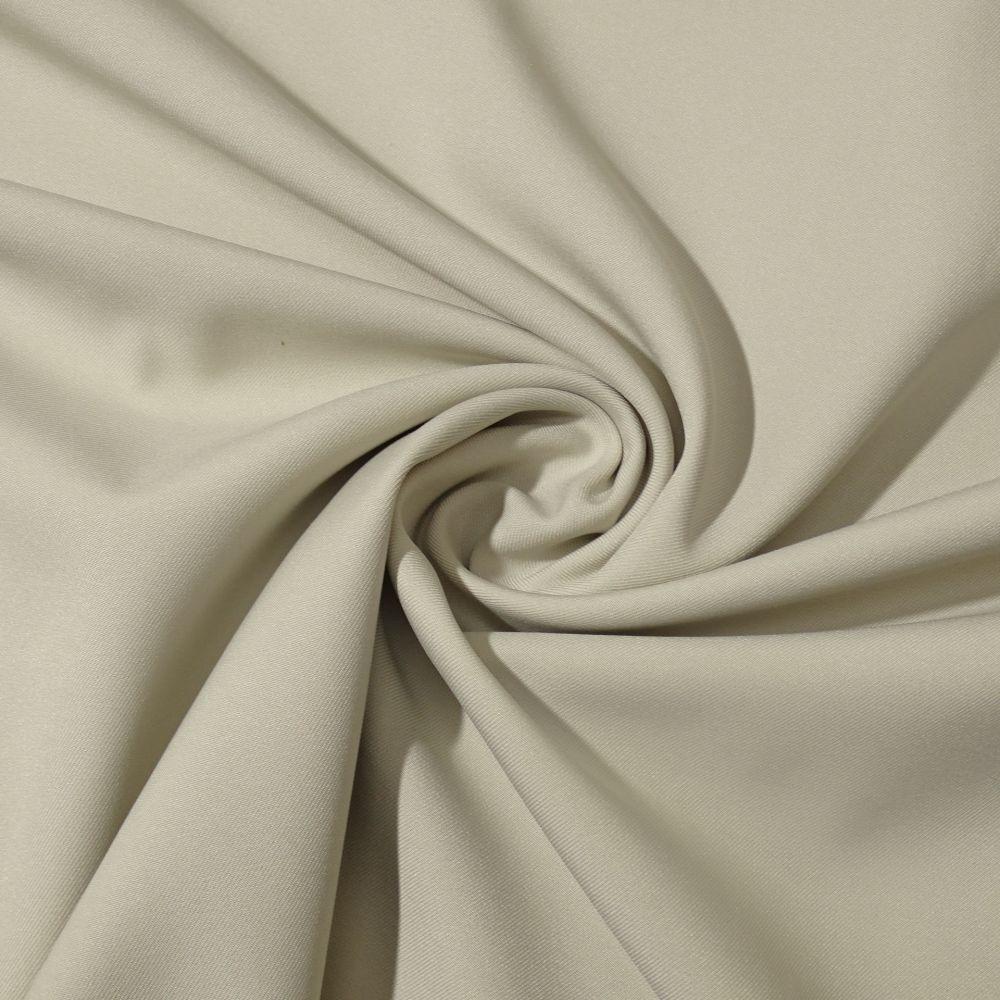 Tecido Gabardine Bi Elastic Marfim - 1,50m de Largura