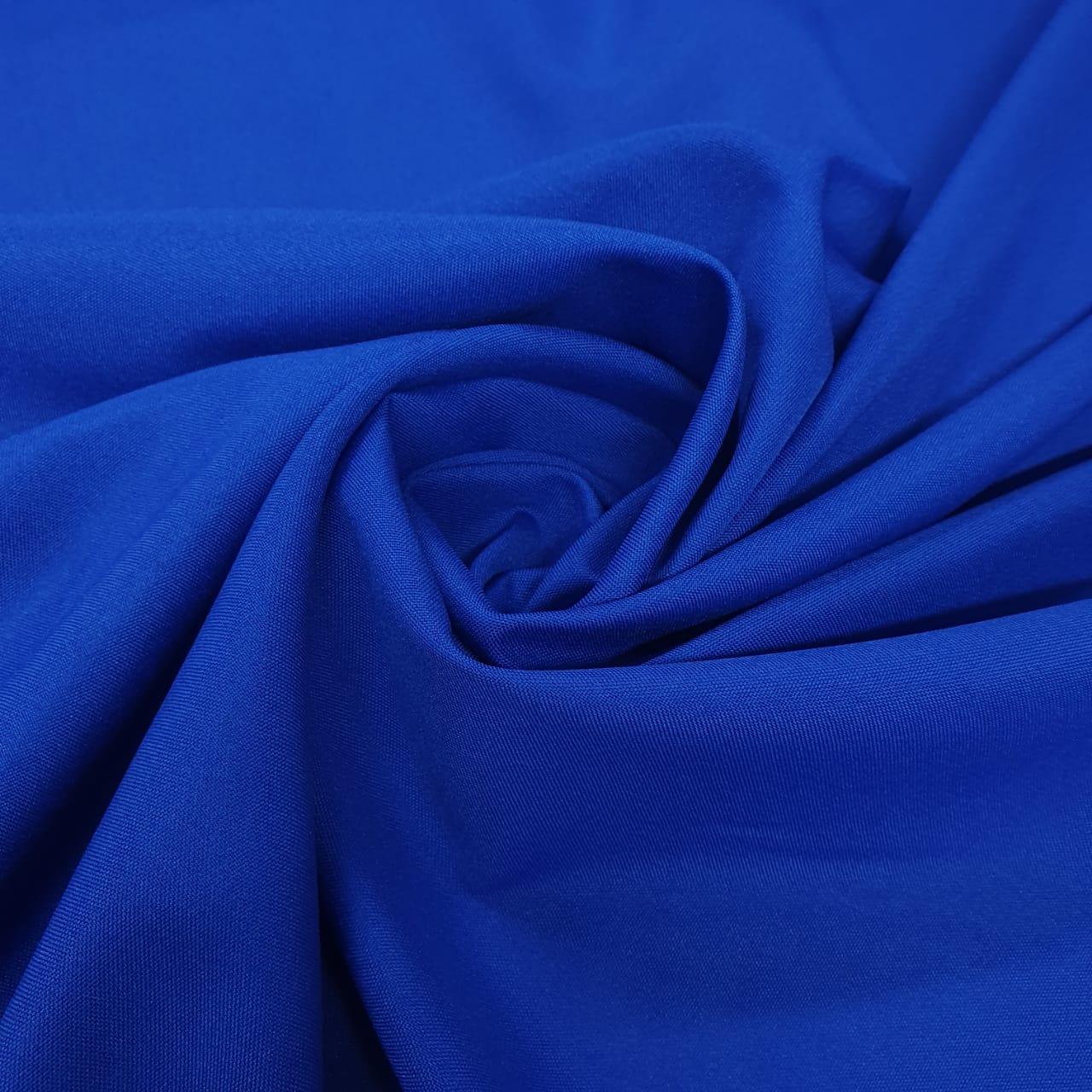 Tecido Oxford Liso Azul Royal - 1,50m de Largura