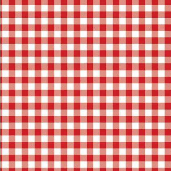 Tecido Oxford Xadrez Médio Vermelho - 1,50m de Largura