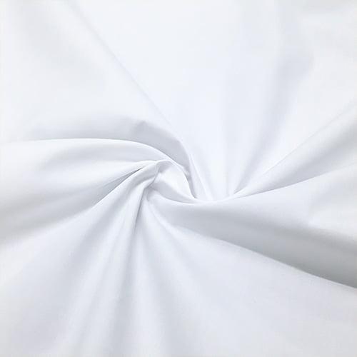 Tecido Tricoline Bahamas Branco - 1,50m de Largura