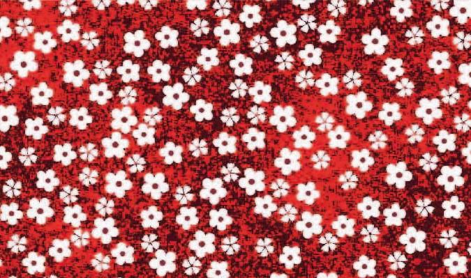 Tecido Tricoline Estampado Poliana 2626 V.3 - 1,50m de Largura