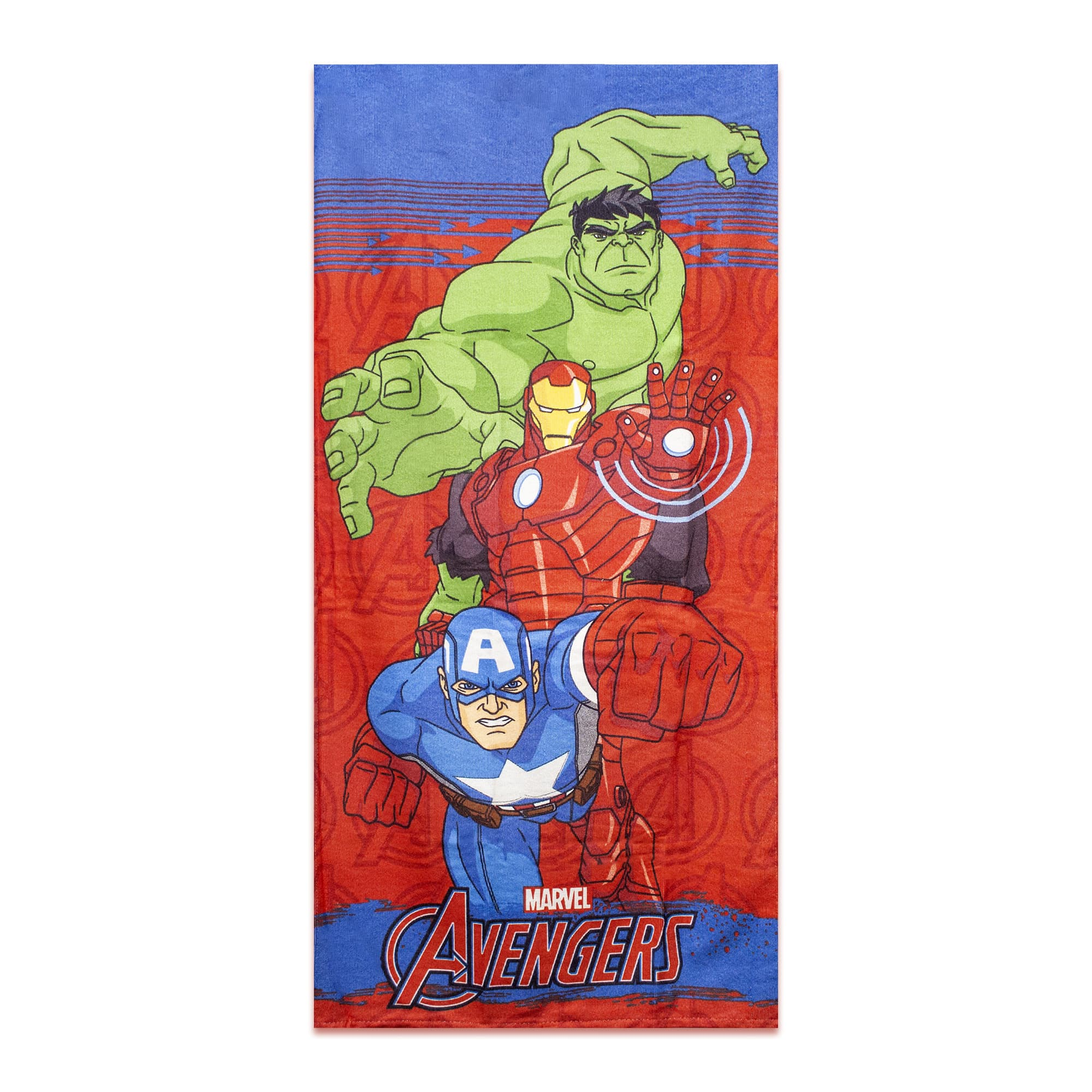 Toalha de Praia Aveludada Avengers