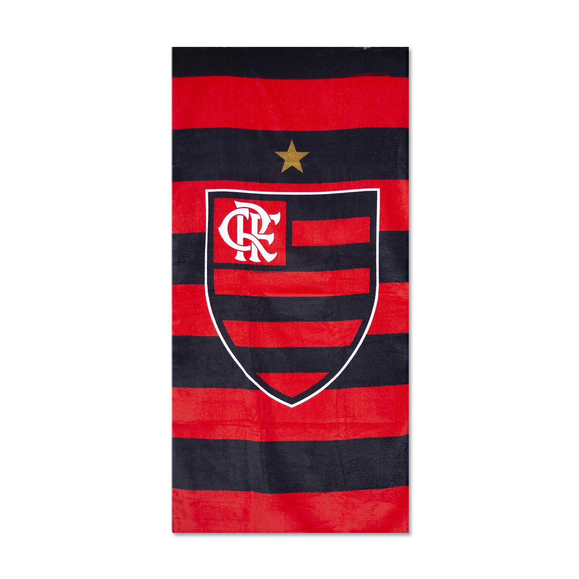 Toalha de Praia Veludo Time Flamengo