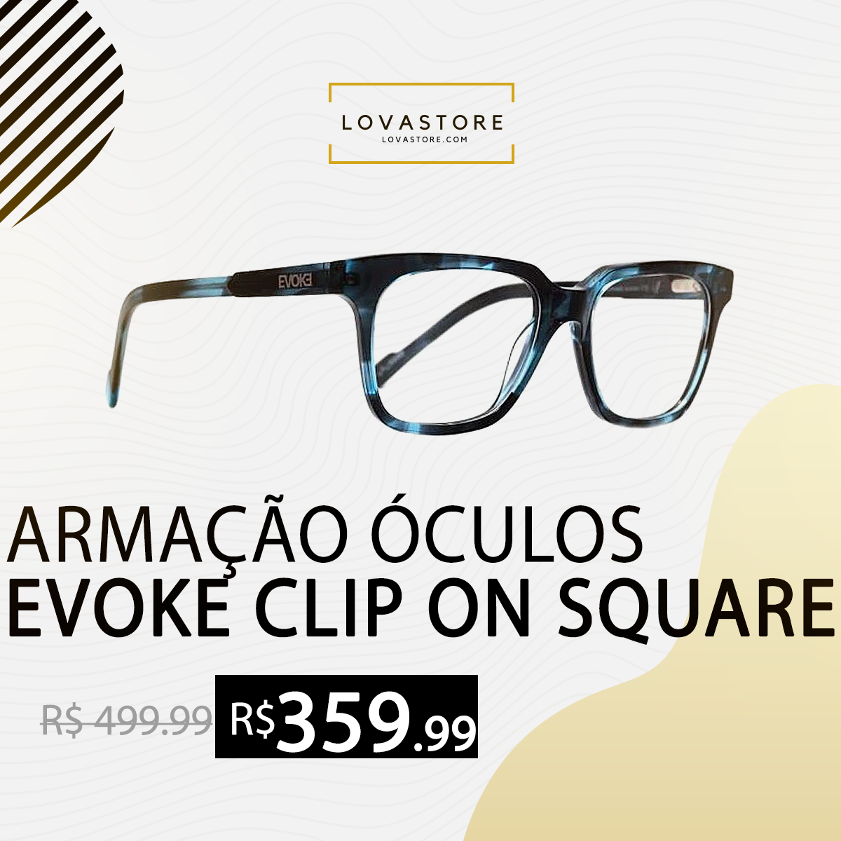 evoke clipon square e01