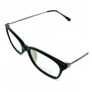 Armação De Óculos De Grau Lova Feminina Diamonds Preta