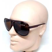 Óculos de Sol Aviador Marrom Lova Abstract Promoção