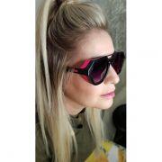 Óculos de Sol Evoke Avalanche Preto com Rosa A09