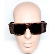 Óculos de Sol Evoke Bomber rd01 Marrom Marmorizado