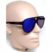 Óculos de Sol Evoke EVK25 Preto Lentes Azuis