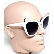 Óculos de Sol Evoke Feminino Penelope Branco b01 Unico