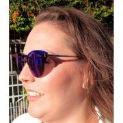 Óculos De Sol Feminino Clubmirror Lova Azul