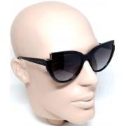 Óculos de Sol Feminino Evoke for you ds57 a01 Preto Brilho