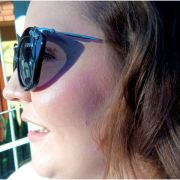 Óculos De Sol Feminino Gatinho Laço Spectre Lova Preto