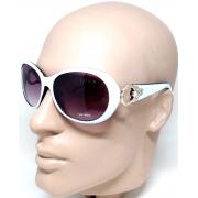 Óculos De Sol Feminino Luxo Fashion Waimea Lova Branco