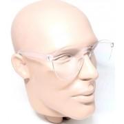 Óculos de Sol Transparente Estiloso Proteção UVA UVB UV400