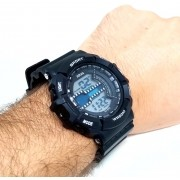 Relógio Masculino Digital Prova dagua Esportivo XJ879 Xinjia