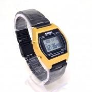 Relógio Digital Bicolor Dourado Preto Skmei 1328 30M