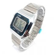 Relógio Masculino Feminino Casio B650w Vintage Prata