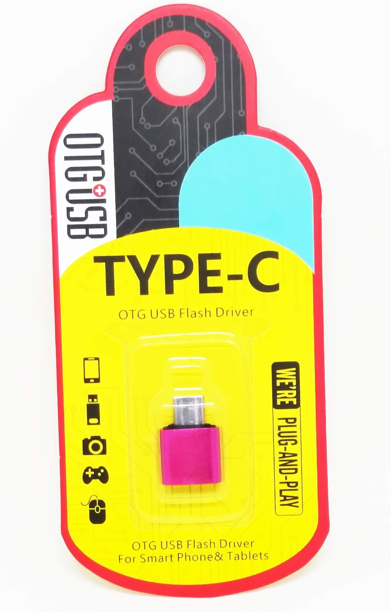 Adaptador OTG USB Tipo C