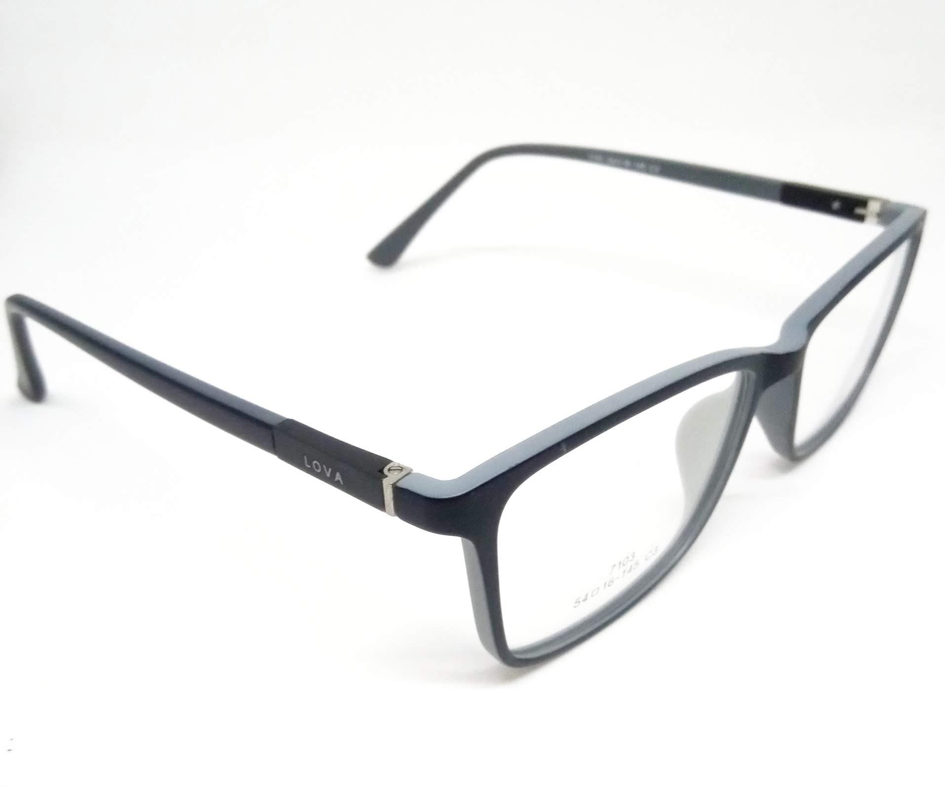 Armação Clipon Óculos de Grau Acetato Cinza Lova
