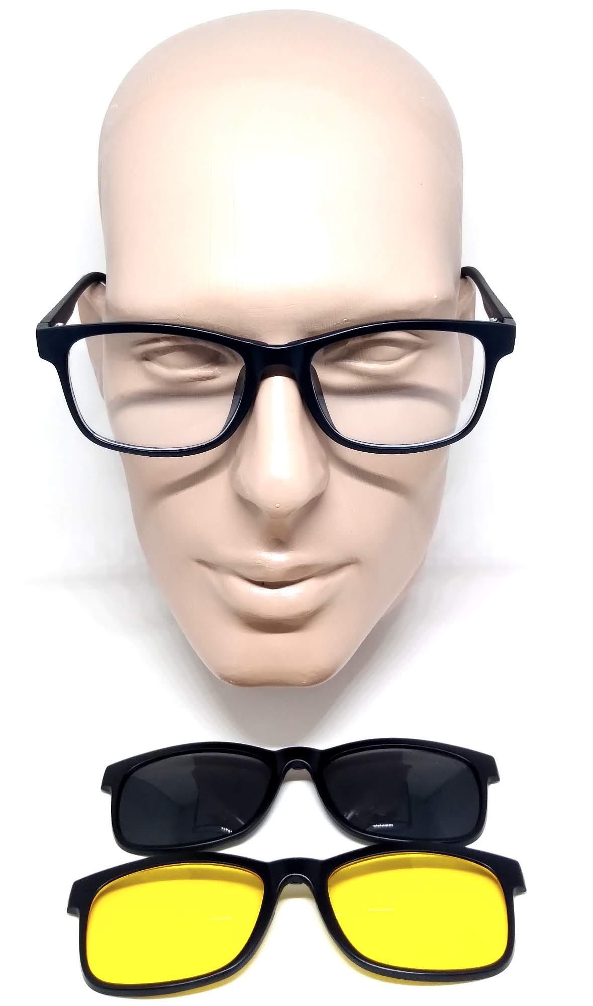 Armação Clipon Óculos De Grau Clipon 3 Lentes Lova