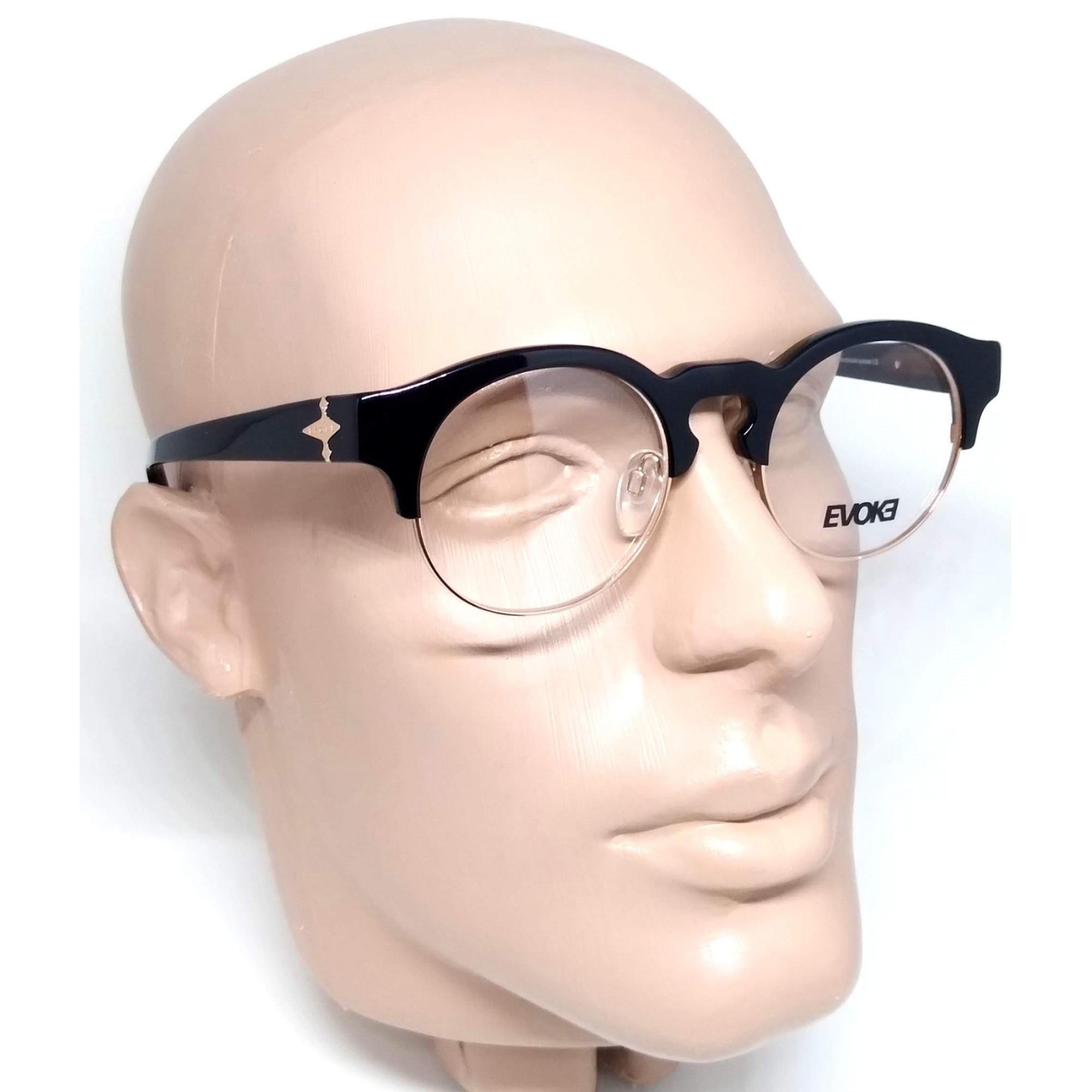 Óculos de Grau Armação Evoke Capo III A02 Preto