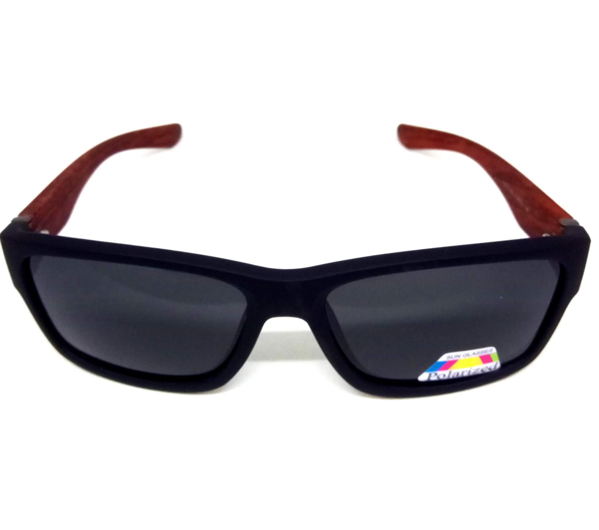 Óculos de Sol Polarizado Madeira Bambu Lova