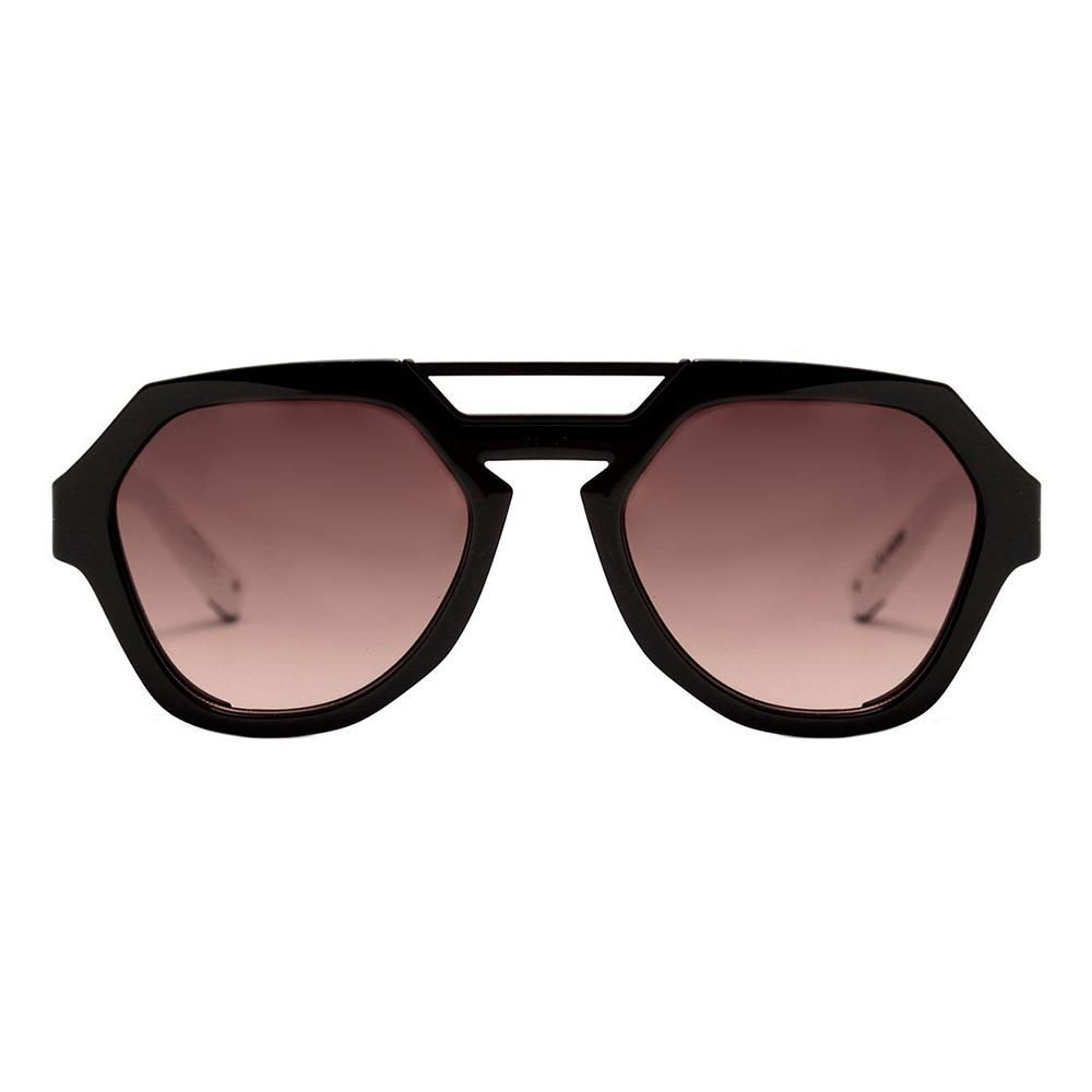 Óculos de Sol Evoke Avalanche Preto com Branco AB02