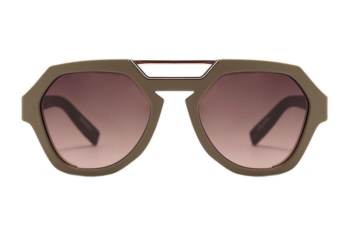 Óculos de Sol Evoke Avalanche Verde Militar E11