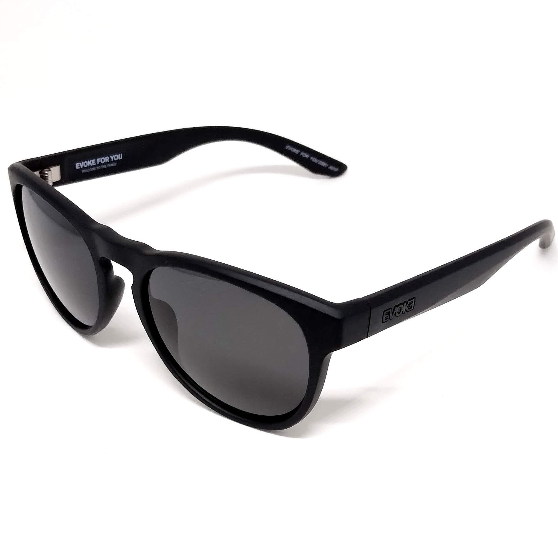 Óculos de Sol Polarizado Evoke DS61 A01P Preto Fosco NF
