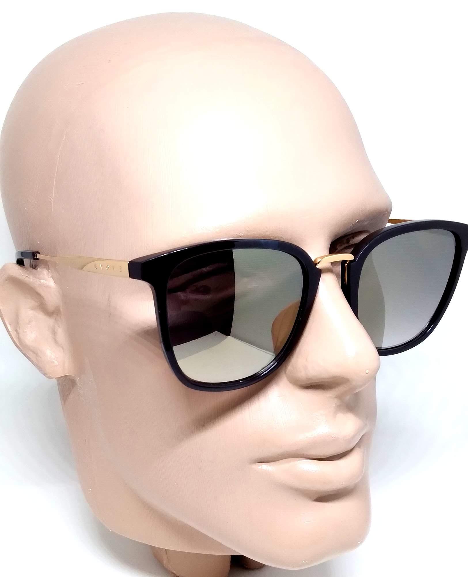 Óculos de Sol Evoke Feminino DS37 D02 Brown Shine Gold
