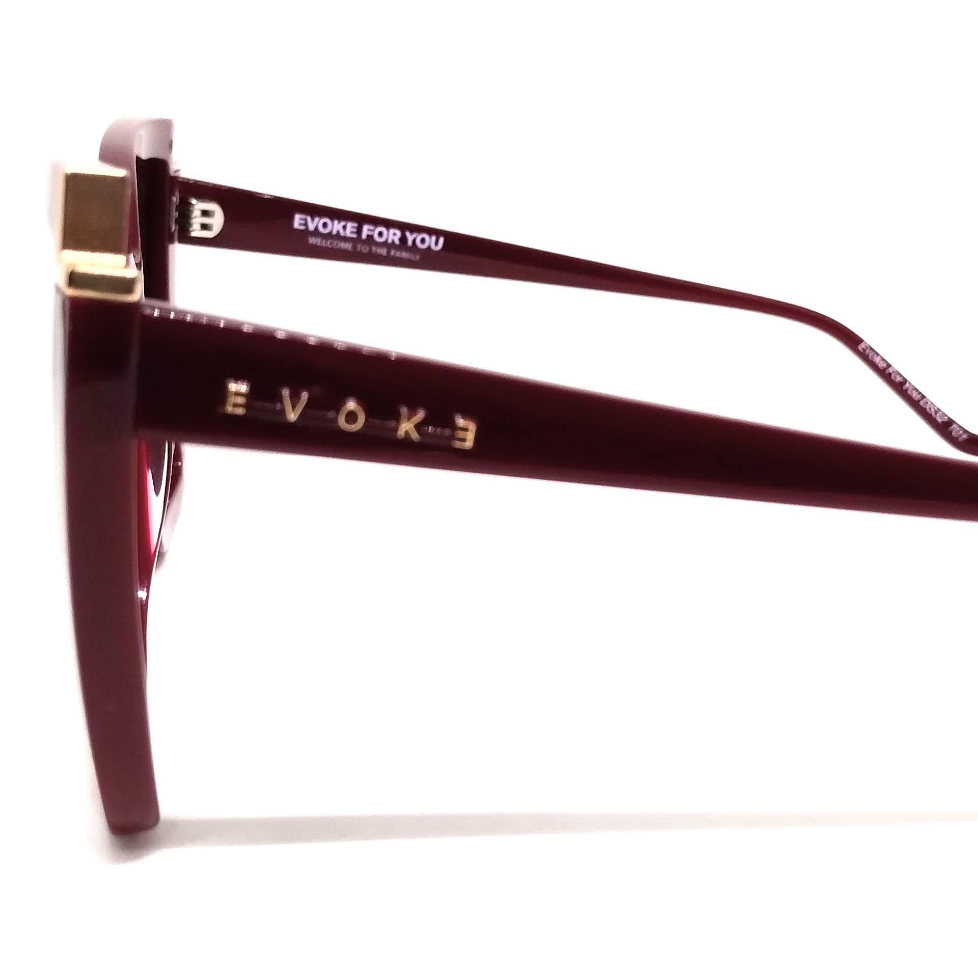 Óculos de Sol Evoke Feminino Evoke For You DS32 Vermelho T01