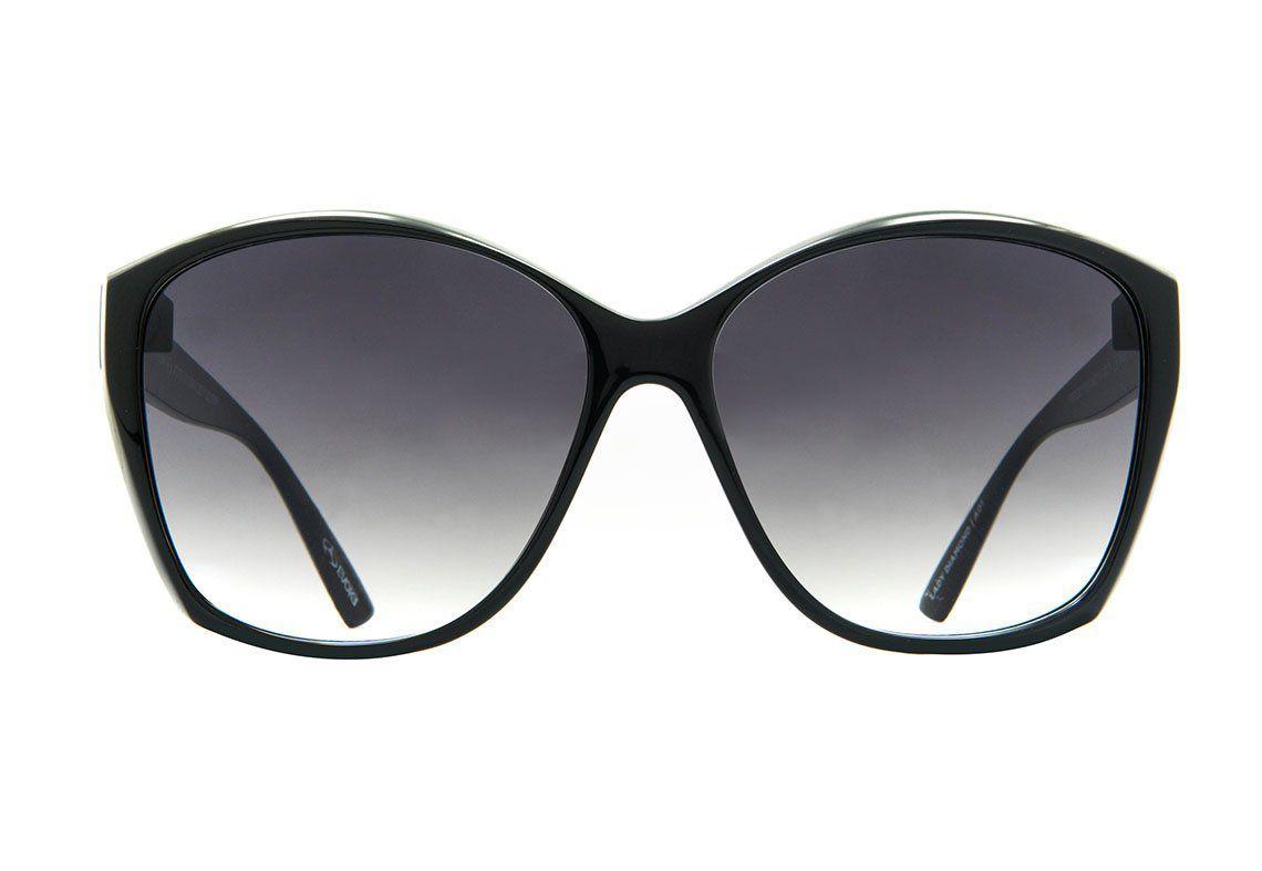 Óculos de Sol Evoke Feminino Lady Diamond Preto