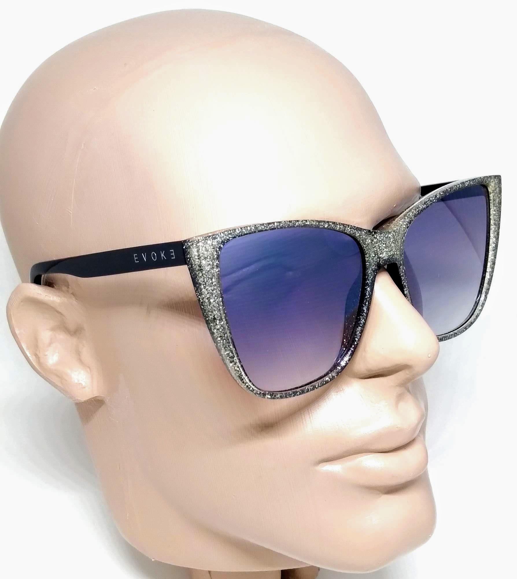Óculos de Sol Evoke Feminino The Godmother a01s Glitter