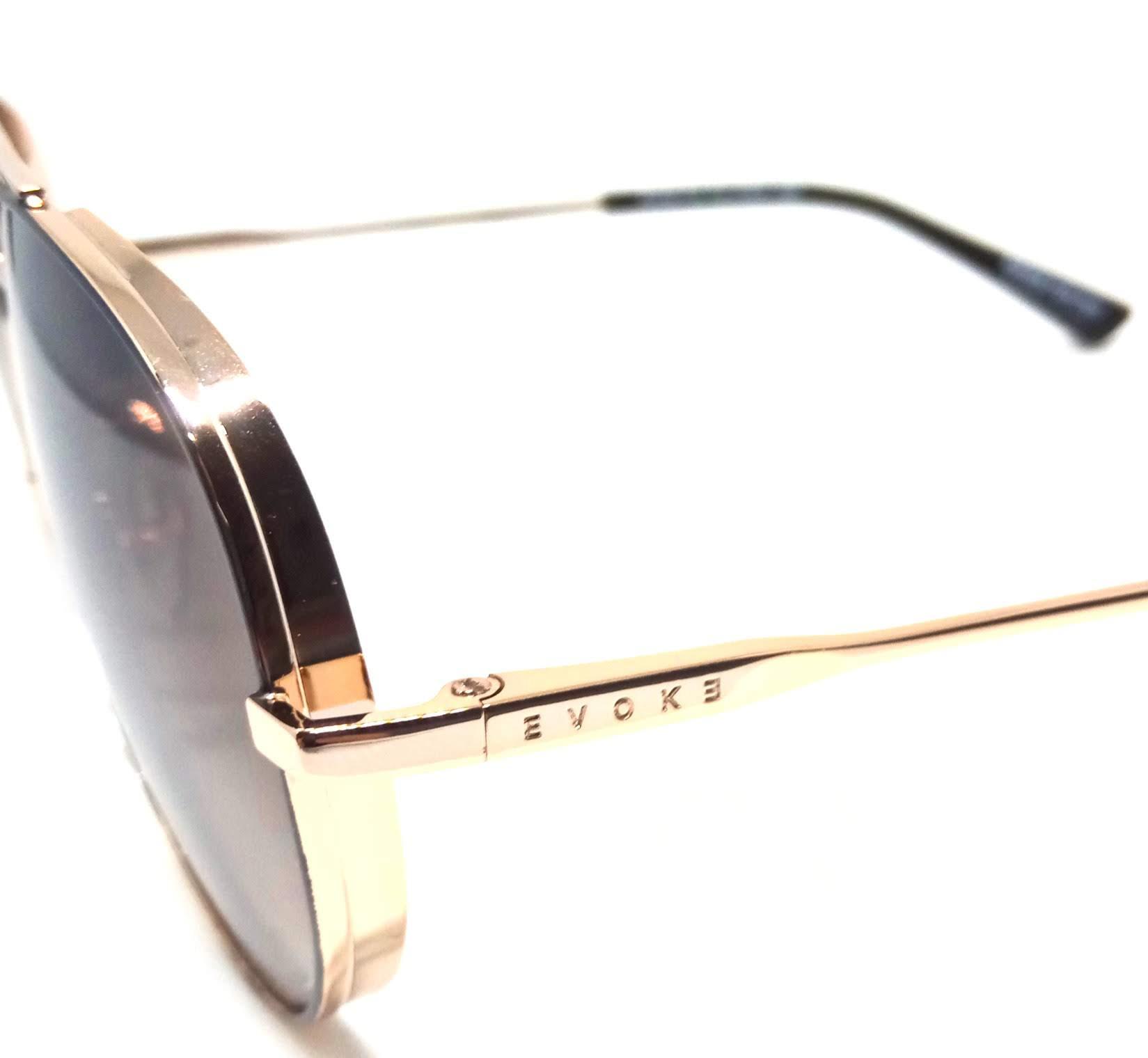 Óculos de Sol Evoke For You DS55 09b Dourado Preto Degrade