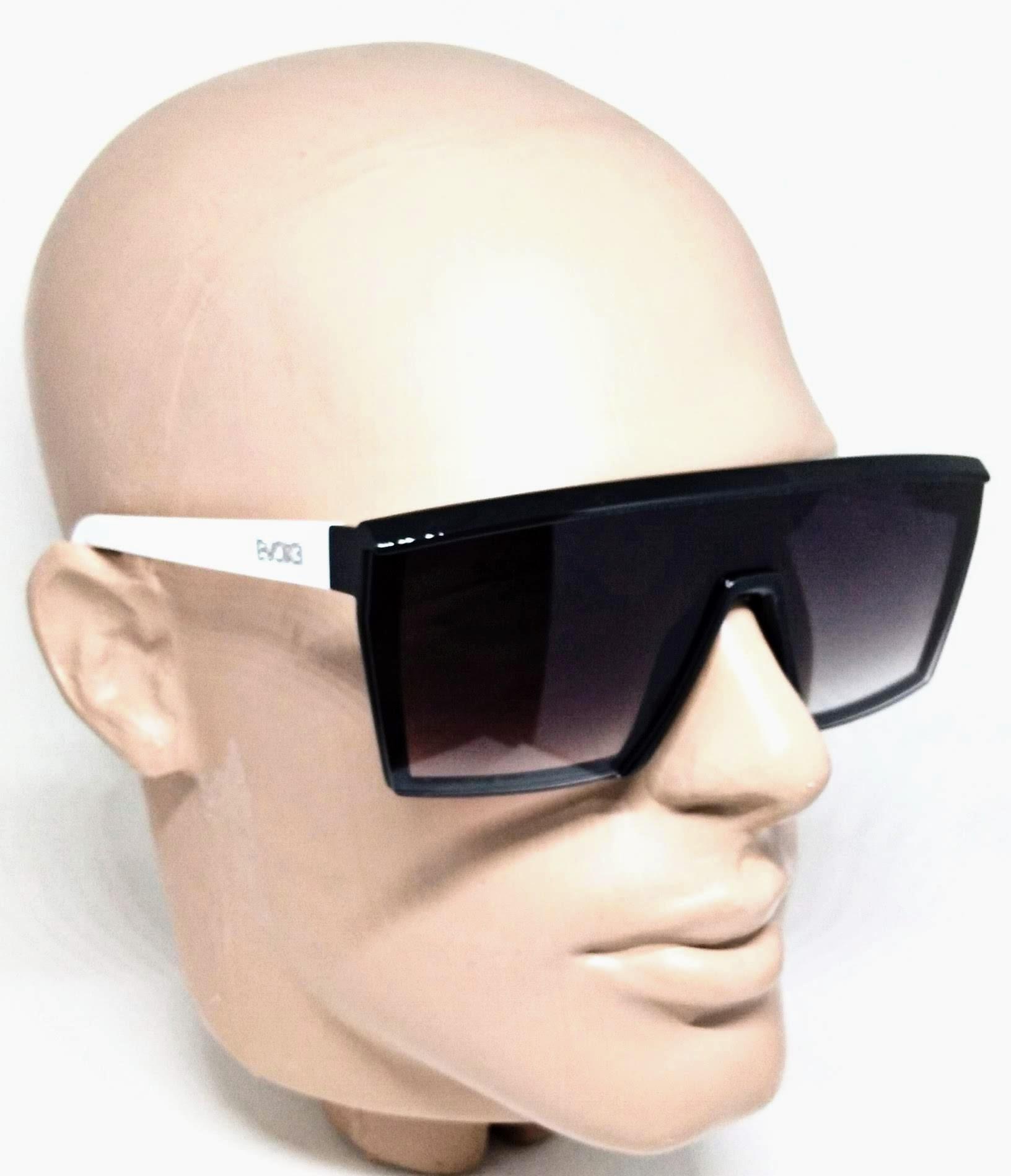 Óculos de Sol Evoke Futurah Branco e Preto Degrade a10t