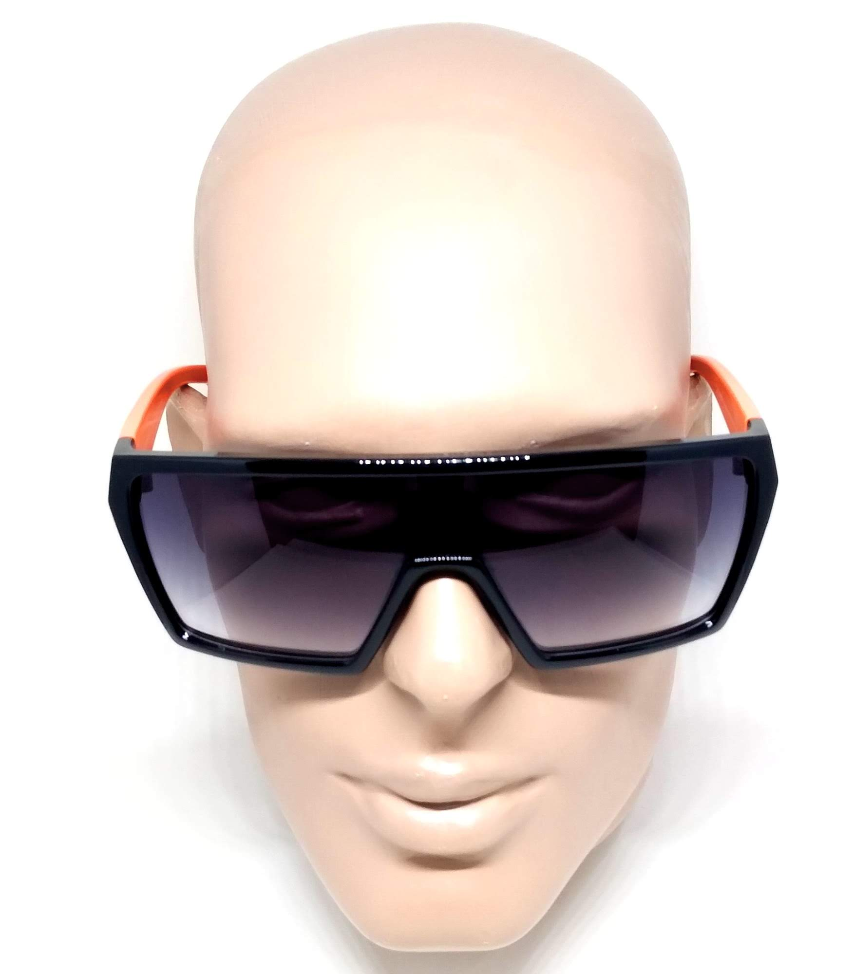 Óculos de Sol Evoke Masculino Bionic Alfa a08 Laranja Preto