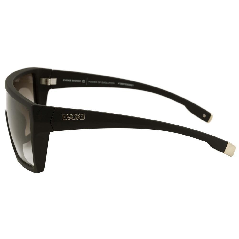 Óculos De Sol Evoke Masculino Bionic Alfa A13 Preto e Marrom