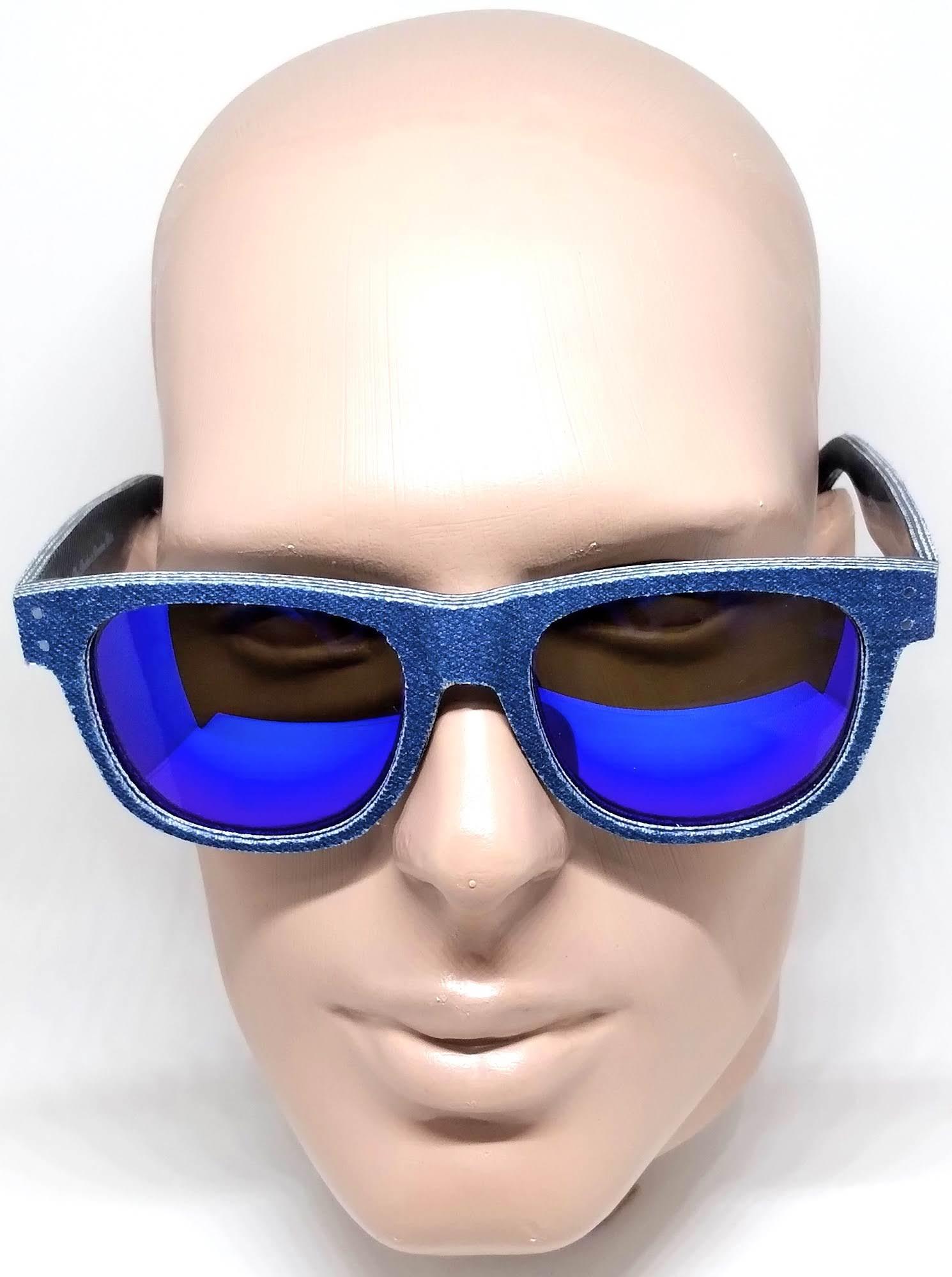 Óculos de Sol Espelhado Evoke On The Rocks X Denim Jeans D01