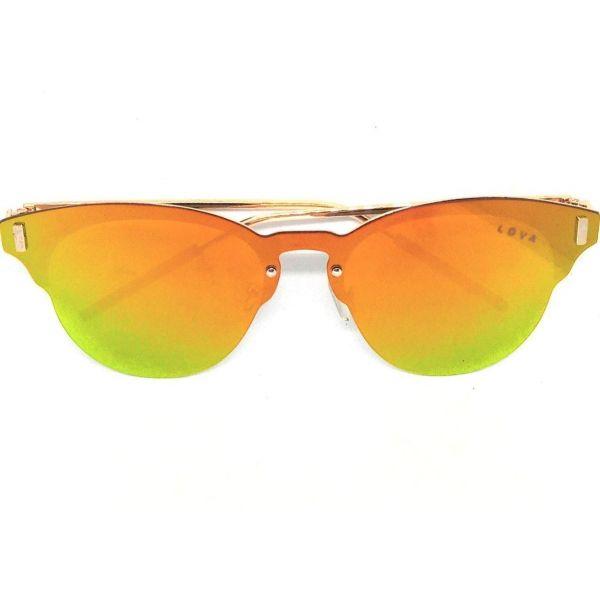 Óculos De Sol Feminino Clubmirror Lova Amarelo