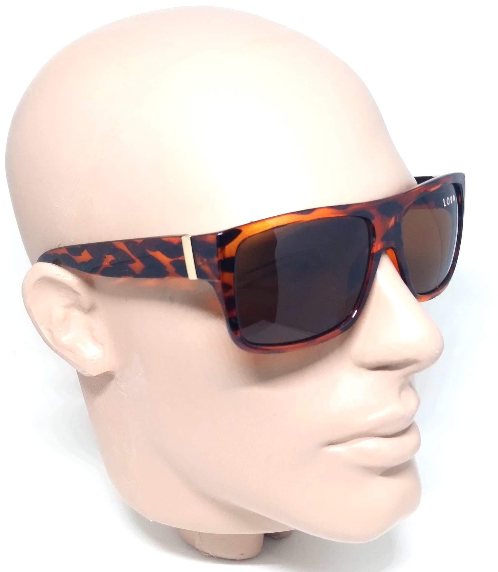 Óculos De Sol Feminino Estampado Tigre Leopard Tartaruga