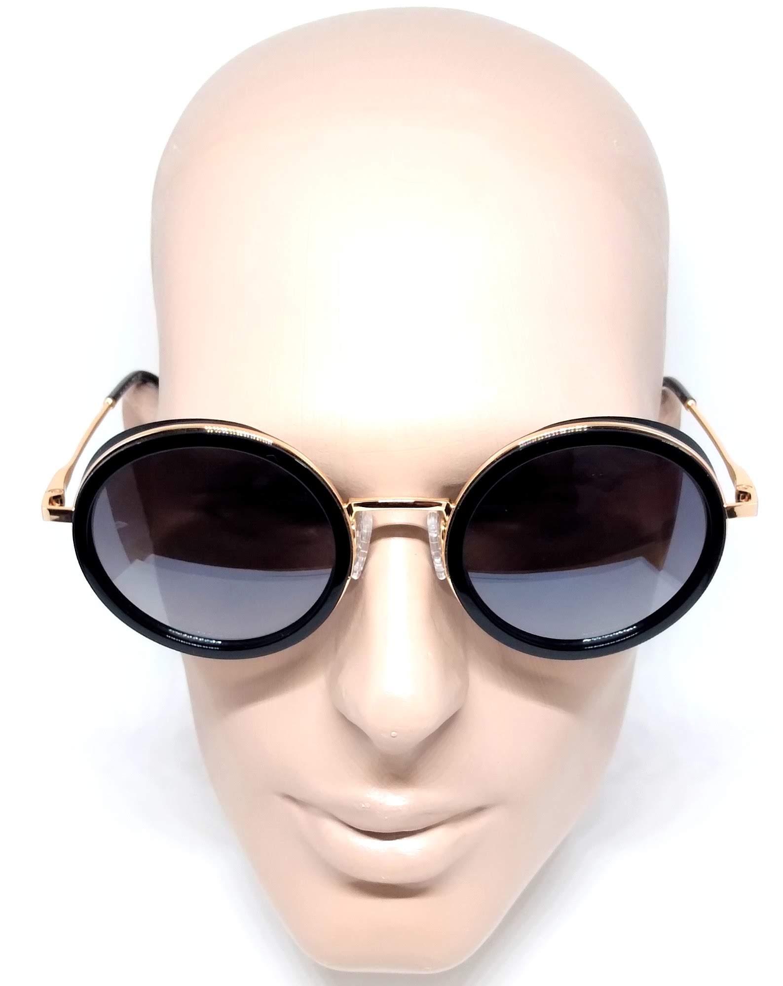 Óculos De Sol Feminino Evoke For You Ds23 Round Metal A01