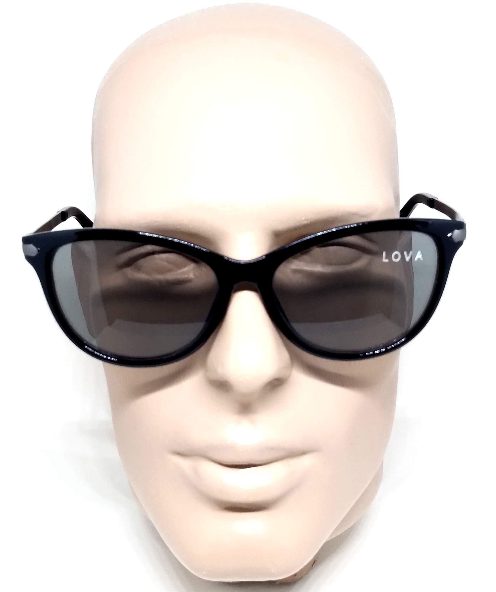 Óculos De Sol Feminino Preto Black Cat Lova