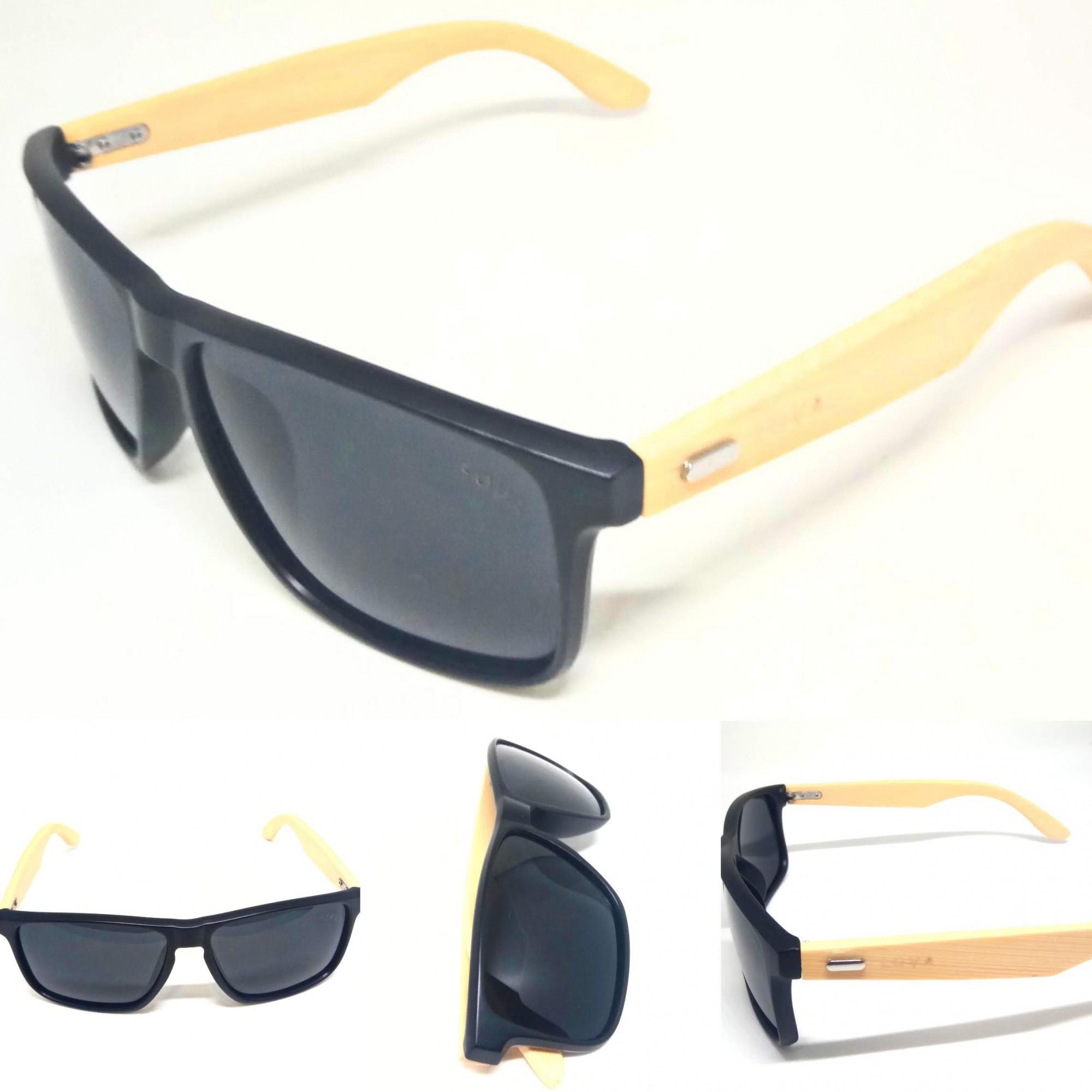 Óculos de Sol Madeira Style Lentes Polarizadas Lova