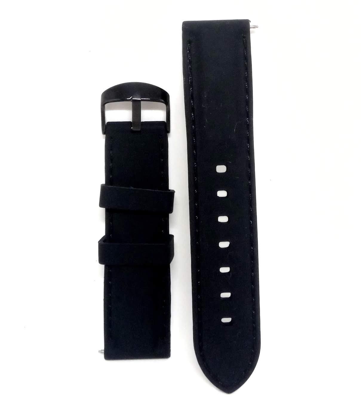 Pulseira Relógio Borracha Silicone 22cm 22mm